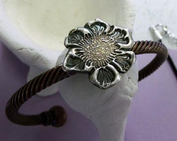 Precious Metal Clay Bracelet
