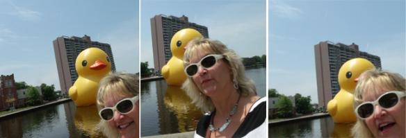 duck selfies