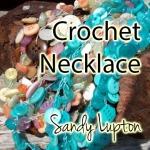 crochet neck button