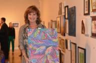 Lisa loved my painting!